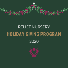Relief Nursery's Holiday Giving Program
