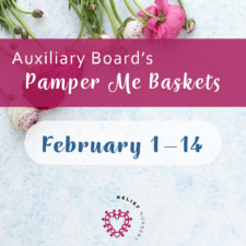 Help Auxiliary Board Collect Items for Pamper Me Baskets!