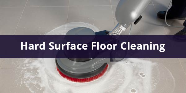 hard surface floor cleaning