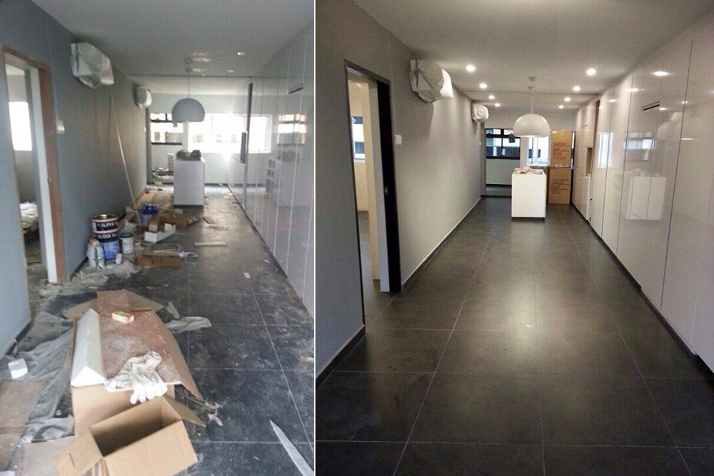 Post-construction cleaning services in Eugene, Springfield, Corvallis, Albany, Salem OR
